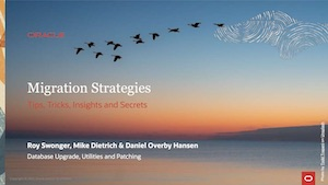 Migration Strategies 25-MAR-2021