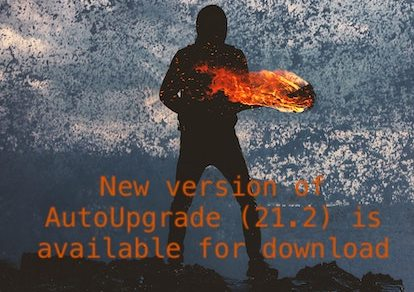New version of AutoUpgrade (21.2) is available for download