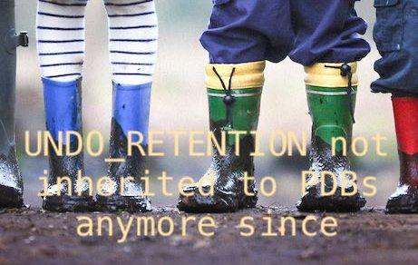 UNDO_RETENTION not inherited to PDBs anymore since 19.9.0