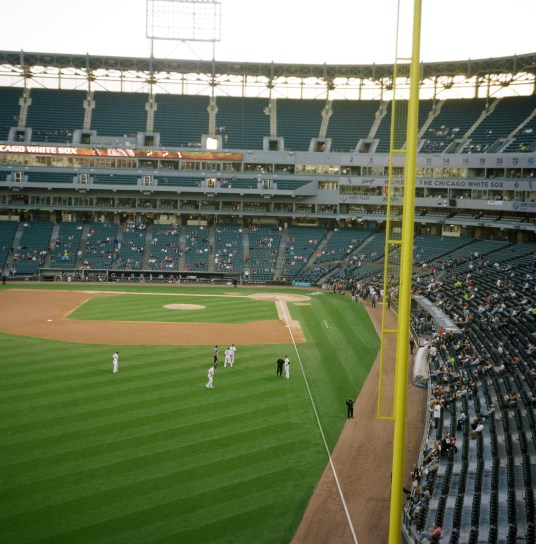 Before a Chicago White Sox game from the upper deck.