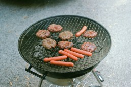 Memorial day burgers and hot dogs!