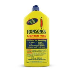 Ronsonol lighter fluid.