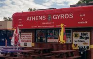 Nothing special here, other than gyros....mmmm...gyros!