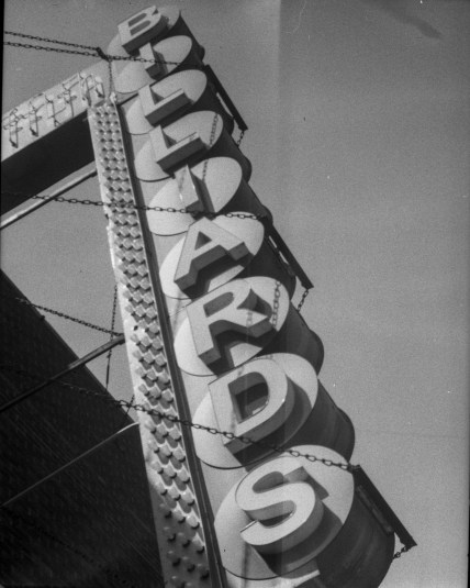 My favorite composition of the entire camera. It was a struggle to frame the entire sign in the image, but it worked.