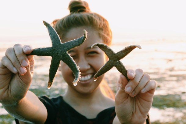 A perfect and four-legged starfish!