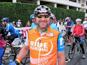 Ride Marshal at the 2010 Multiple Sclerosis Bay to Bay tour