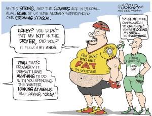 Old Guys Cartoon