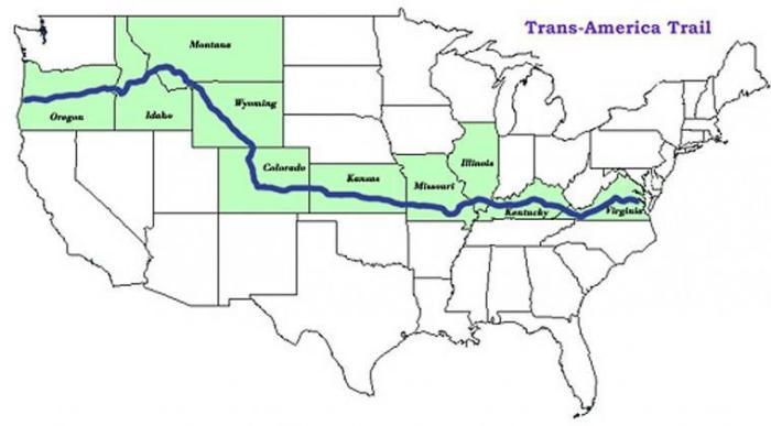 Trans AM Route