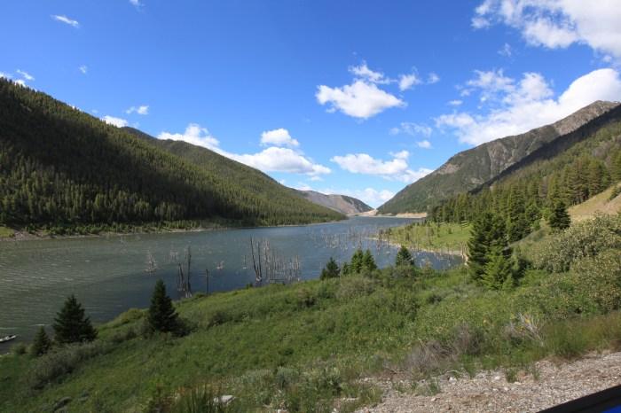 Earthquake Lake, MT.