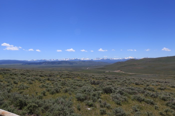 The Bitterroot Mountains from atop Big Hole Pass, MT