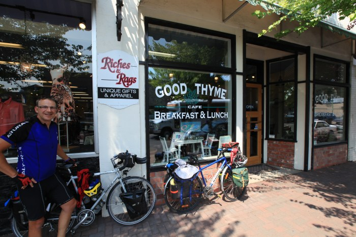 Good Thyme Cafe. --Prineville, OR