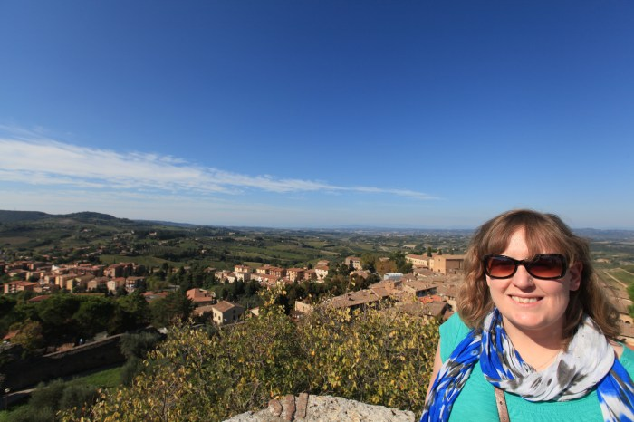 The view from San Gigimano