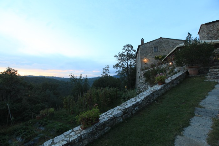 Sunset at Livernano