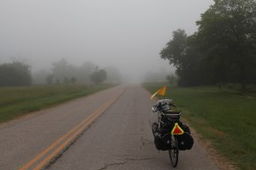Leaving the Beaumont Hotel, which is dedicated to aviation I was aware that today in 1945, the allied forces landed in Normandy as the fog over the channel cleared. Meanwhile in Kansas: still foggy.