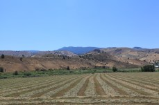 The view South of John Day Valley. --Dayville, OR