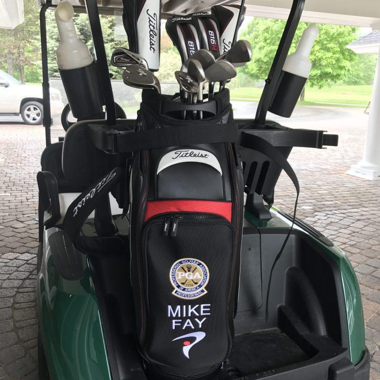 Mike Fay Golf Bag
