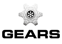 Gears Logo With Transparent Background