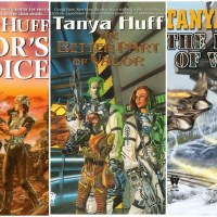 """""""Valor's Choice"""" """"The Better Part of Valor"""" """"The Heart of Valor"""" - Confederation #1, #2 and #3"""" by Tanya Huff - Fast and fascinating SF Military Series"""
