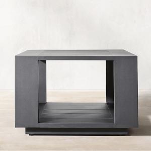 Massimo Aluminum Side Table