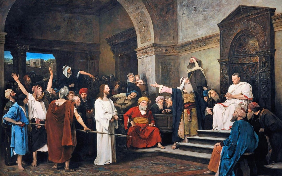The one woman at the trial of Christ