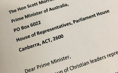 A Letter to the Australian Prime Minister regarding Climate Action