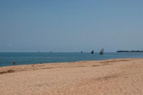 The beach at Mahajunga