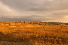 Sunset scenery at Ranohira