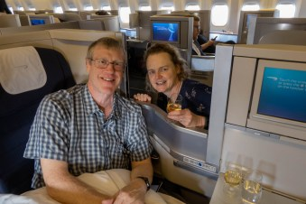 Business class was a nice treat, but we'd better not get too used to it