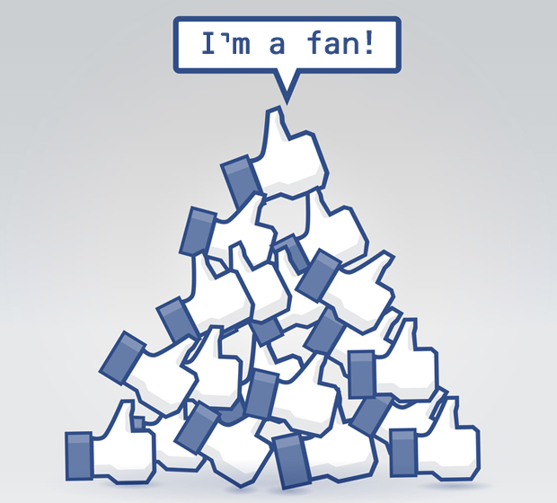 """Liking"" a Business, makes you a fan but does not guarantee you see the posts the Page makes"