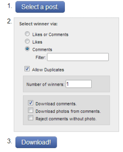 4 timeline facebook contest app setup 2 tabsite 5 Facebook Timeline Contest Types and 10 Examples You Can Run Now