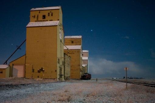 Mossleigh Grain Elevators