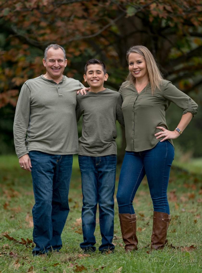 Megon, Scott, and AJ Family Photoshoot