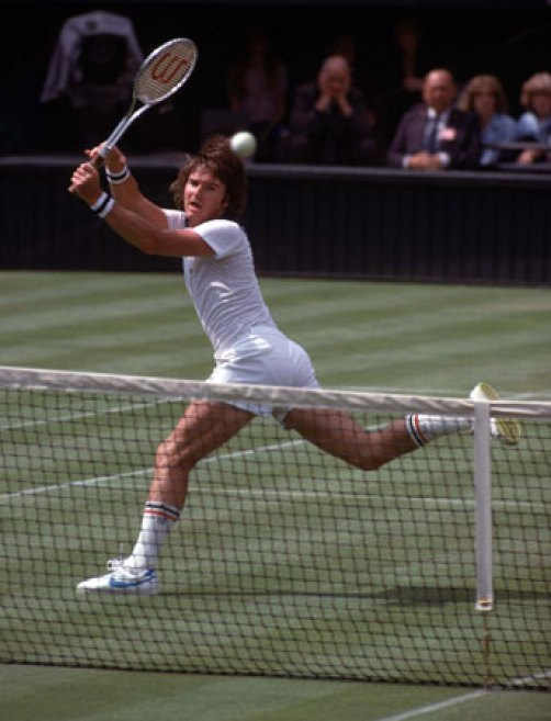 Jimmy Connors was only 22