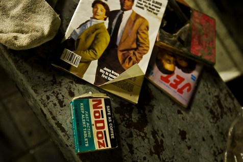 No-doz was a popular choice for many people on the late shift before energy drinks took its place.