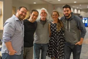 Me, Stu Fuchs, Steve Sherrill, Victoria Vox, Colin COleman