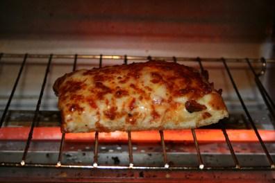 Жареный хлеб с сыром