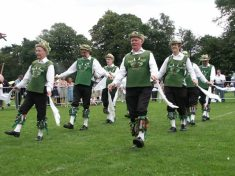 Dancing 'Sheriff's Ride' from the Lichfield tradition
