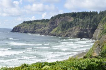 Looking towards Cape Mears