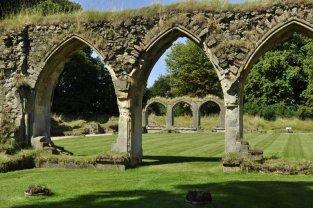 Hailes Abbey, a 13th century Cistercian abbey