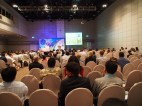 Delegates attending one of the sessions