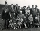 With our extended family at Hollington in 1950. I'm the little boy standing on the left, being huugged by my sister Margaret.