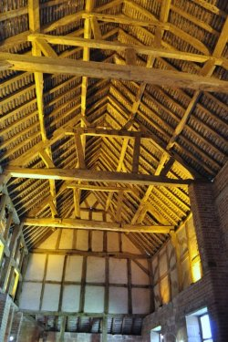 Roof of the stable block