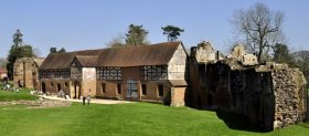 The 16th century stable block