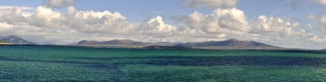 Crossing the Sound of Harris frpm Leverburgh, South Harris to Berneray