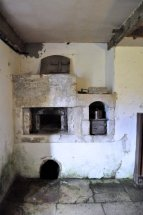 An old bread oven that was used to bake bread for troops stationed nearby during the Second World War.