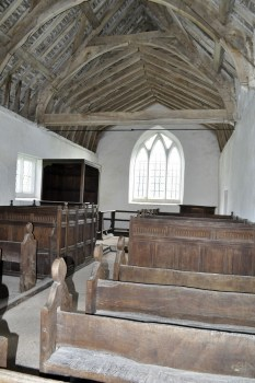 Looking east towards the chancel.