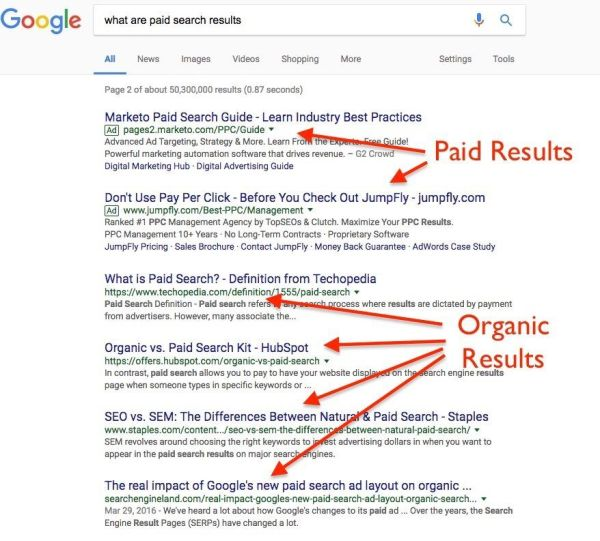 what is search engine results page serp definition - 878×793