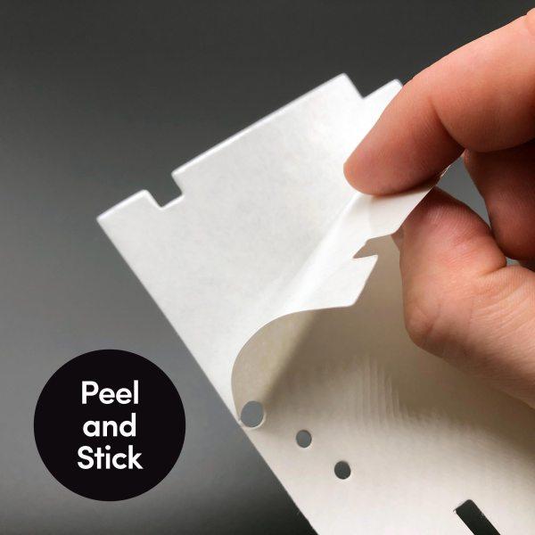 Peel and Stick underside of carpet mod for Eaglemoss DeLorean