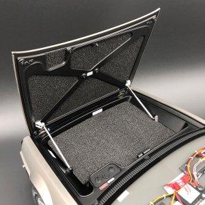Eaglemoss DeLorean luggage compartment carpet