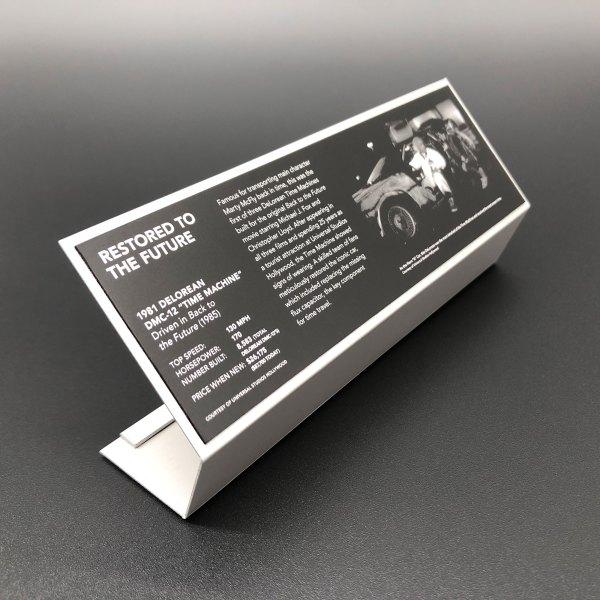 1:8 Museum Stand mod for 1:8 Eaglemoss DeLorean model